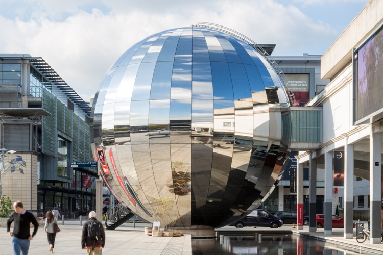 At-Bristol Planetarium - Big Silver Ball