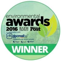 Bristol Post and Bath Chronicle Environmental Awards winner