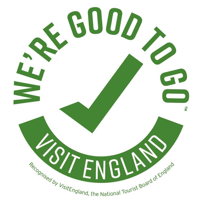 Good To Go England Green accreditation logo