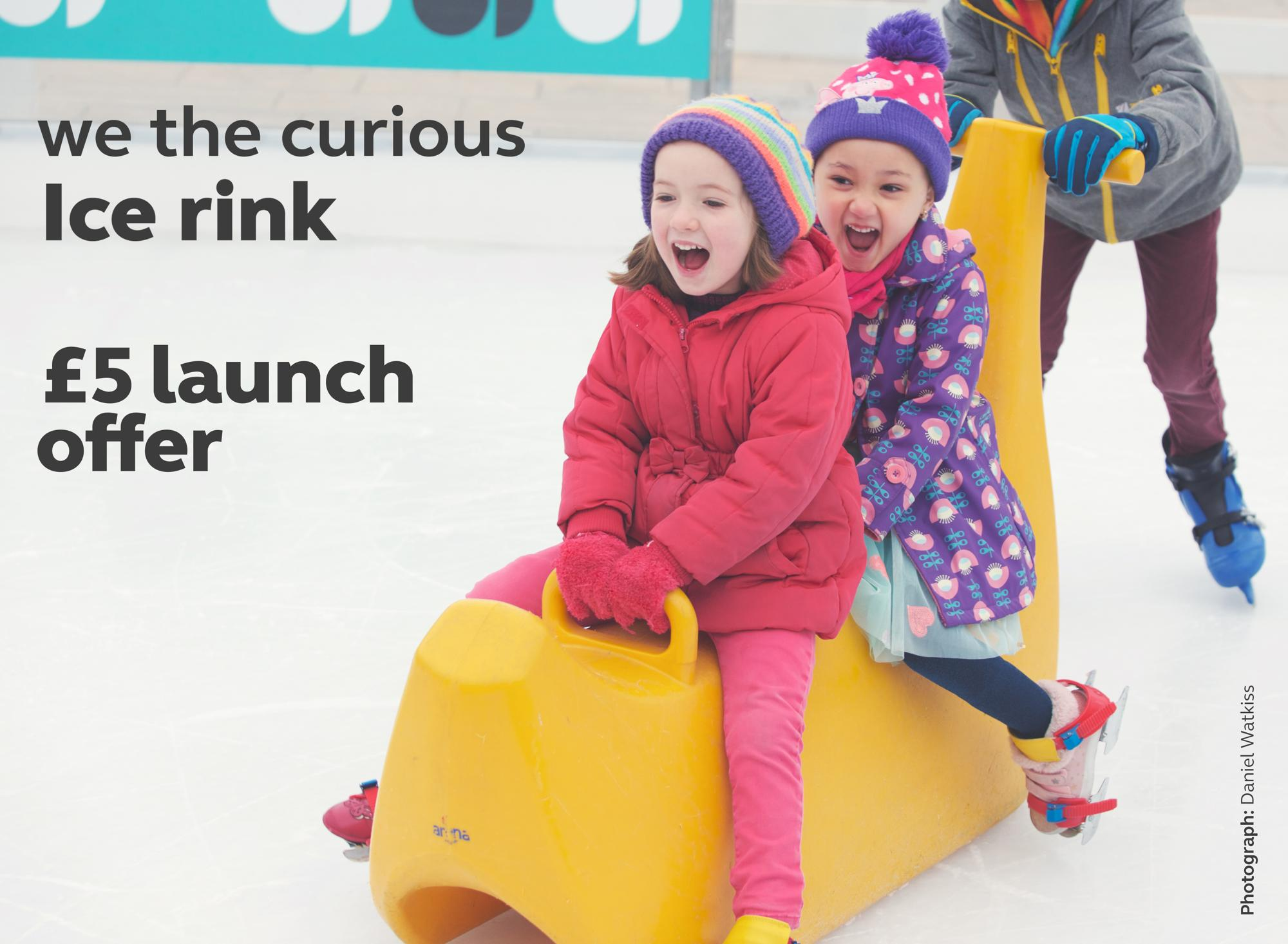 Ice rink launch £5 offer